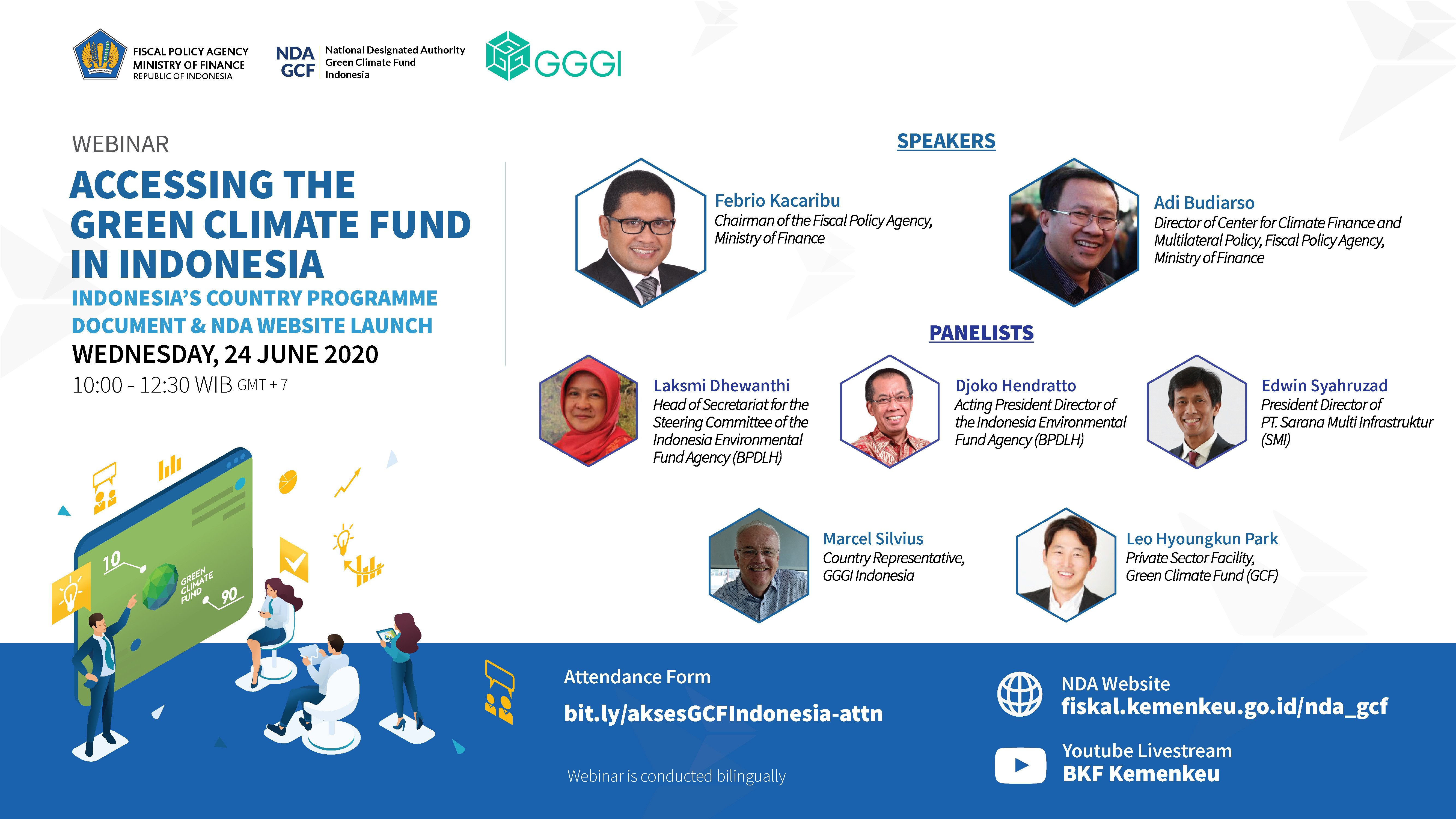 Mengakses Green Climate Fund di Indonesia